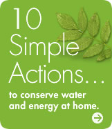 10 Simple Actions to conserve & energy